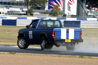 Autocar Sidesways Challenge at Silverstone 19th September 2003 by Tony Large
